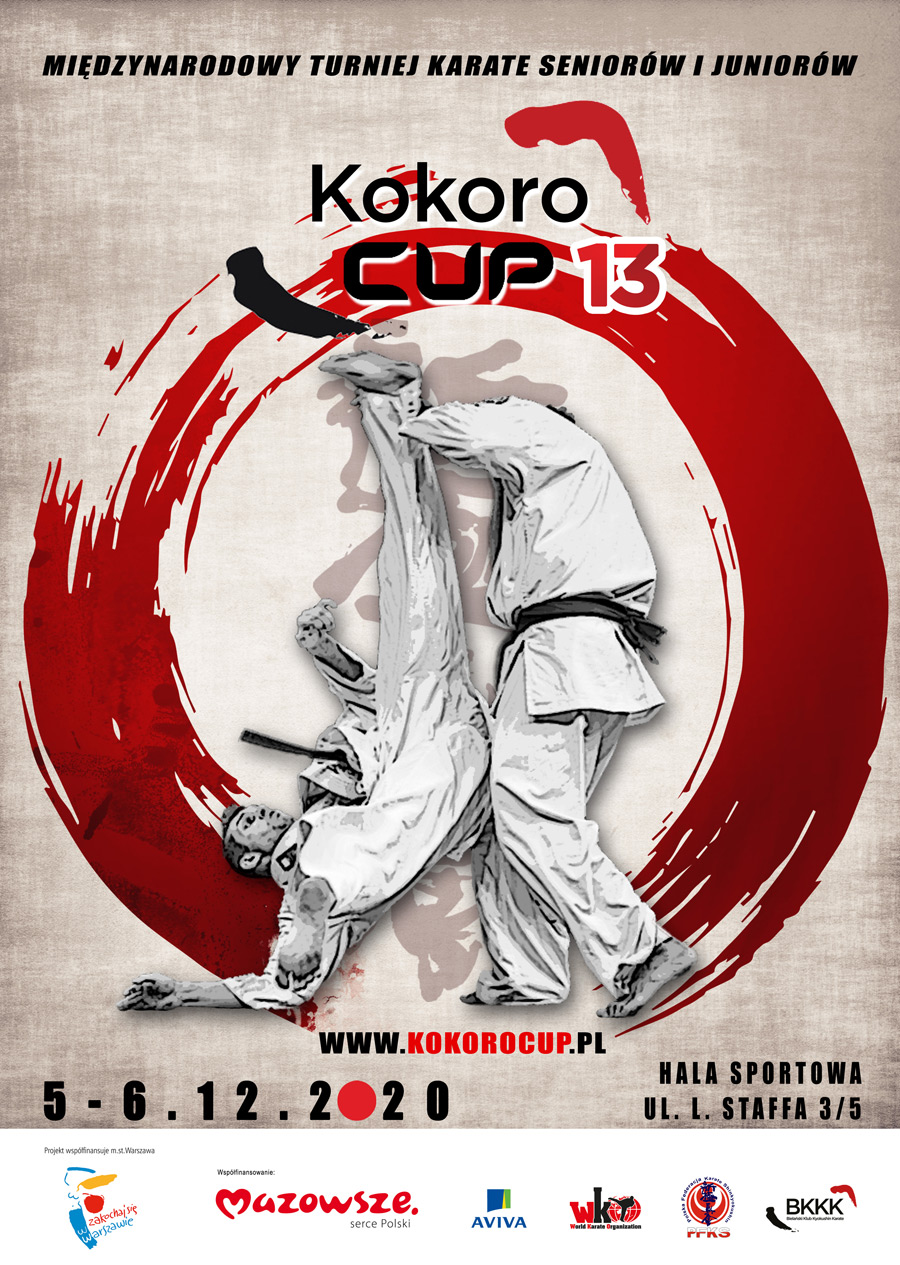 Plakat Kokoro Cup 13