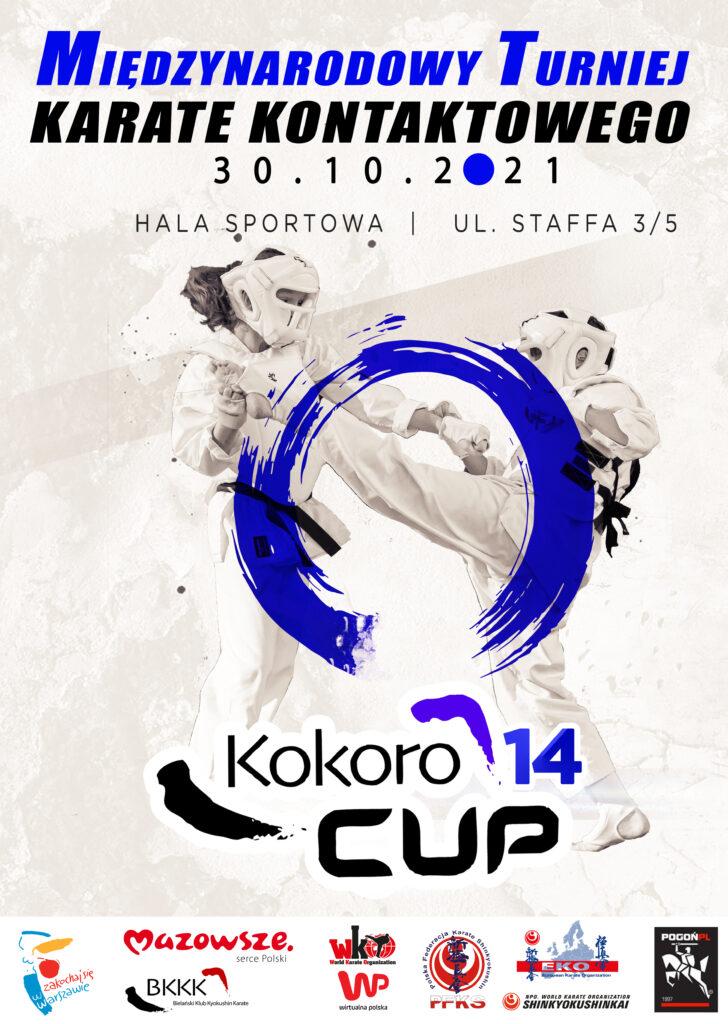 Kokoro Cup Juniorów 2021 - Plakat