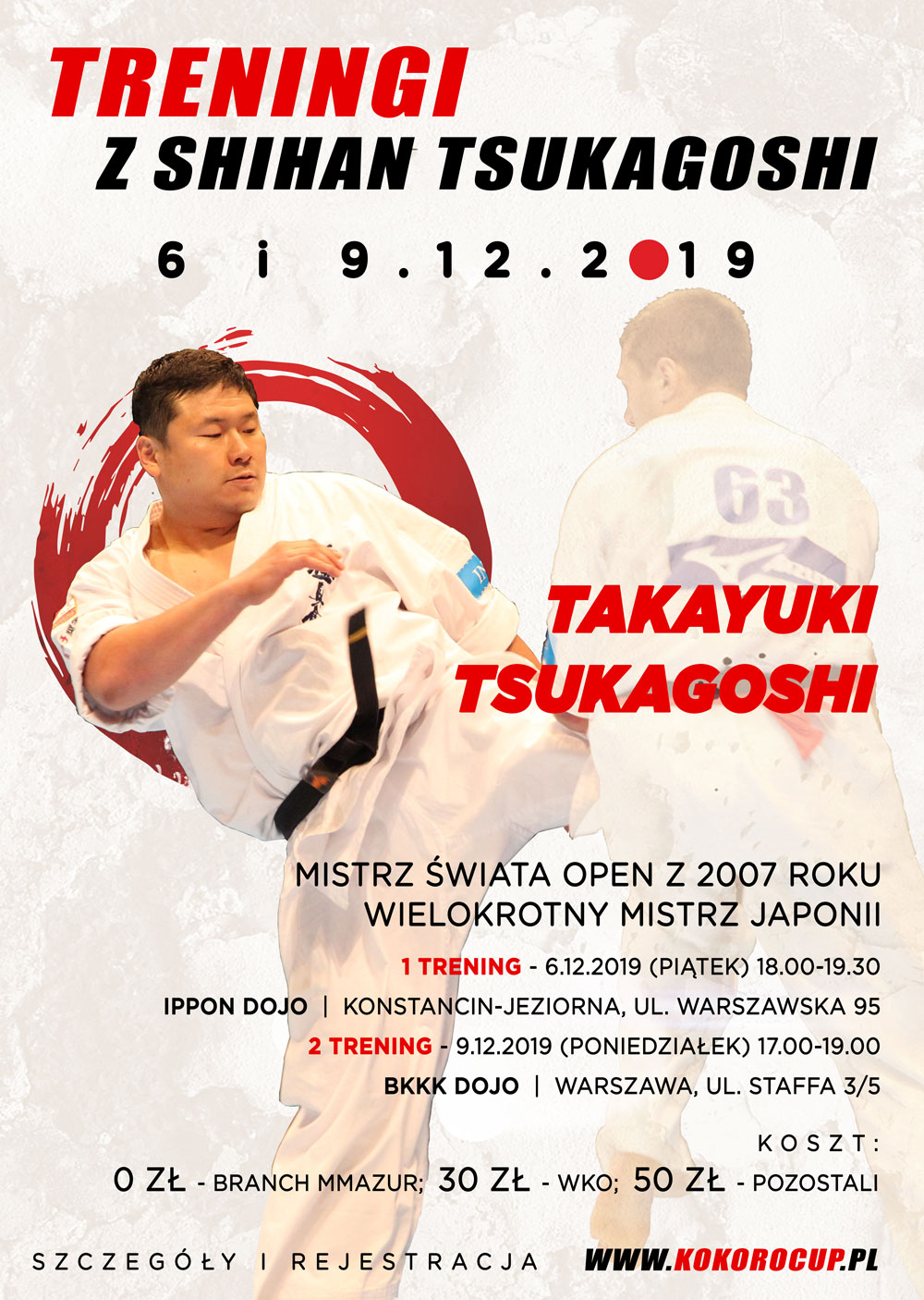 Treningi Tsukagoshi 2019